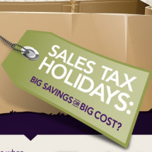 Sales Tax Holidays: Big Savings or Big Cost? Infographic