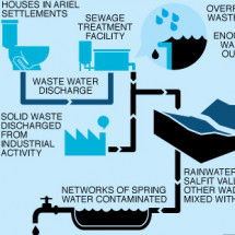Salfit and the struggle for Water Infographic