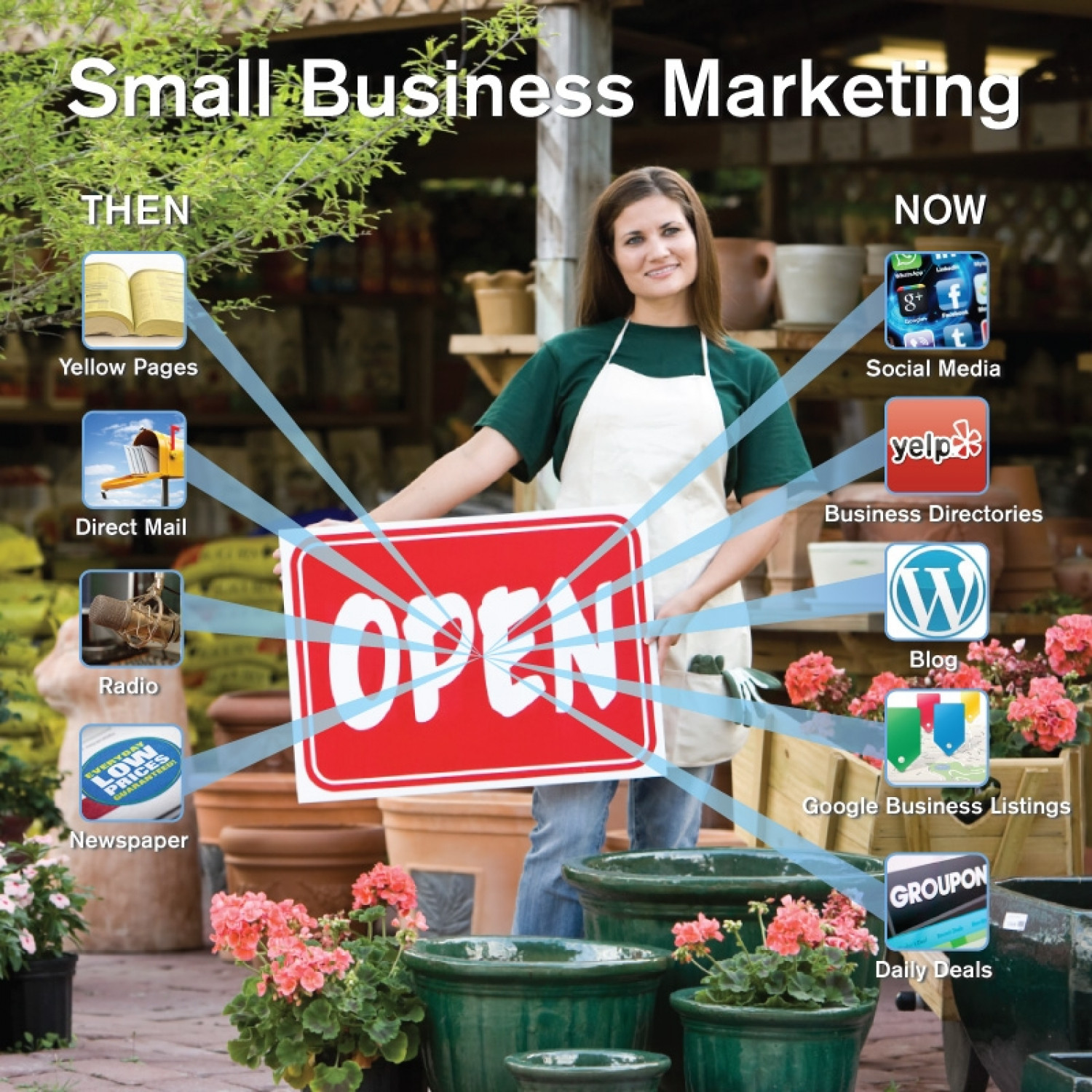 Saluting Small Business Infographic