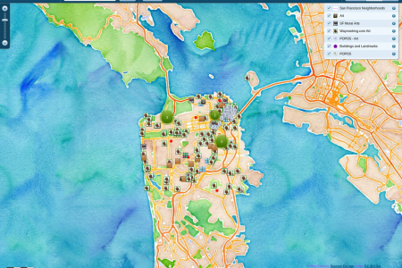 San Francisco Public Art Infographic