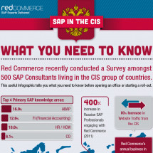SAP in Russia  Infographic