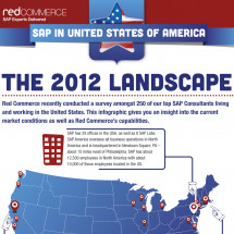 SAP in the USA Infographic