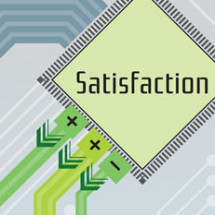 Satisfaction Drives Online Sales Infographic