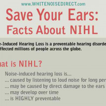 Save Your Ears: Facts about NIHL Infographic