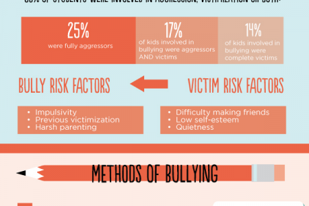School  Bullying Outbreak Infographic