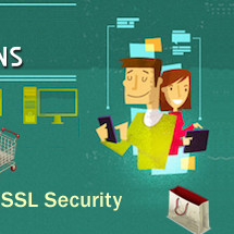 Secure Online Transactions by choosing right SSL Certificate Infographic