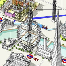 Sedi Olimpiche di Londra da LondonTown.com Infographic