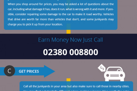 Selling Junk Car for Cash is Easy Now! Infographic