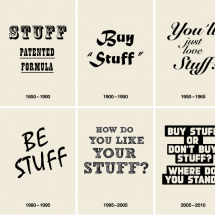 selling stuff –  a brief history Infographic