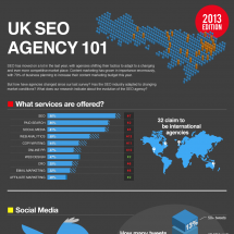 SEO Agency 101 2013 Edition Infographic