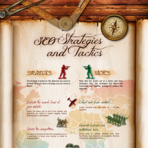 SEO STRATEGIES AND TACTICS Infographic