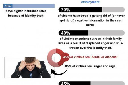 Shocking Identity Theft Stats Infographic