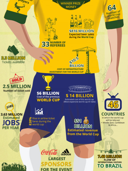 2014 FIFA World Cup Brasil Infographic