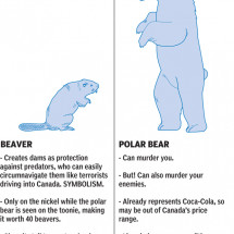 Should a Polar Bear Replace the Beaver as Canadas National Emblem? Infographic