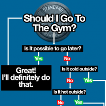 Should I Go to the Gym? Infographic