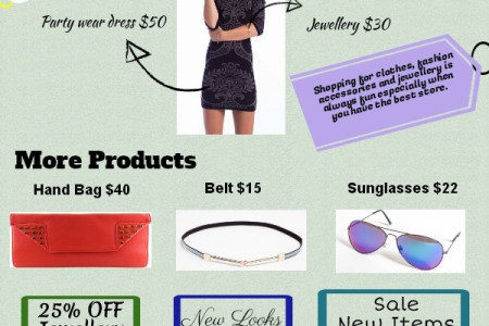 SHOWPO - Fashion Online Store Infographic