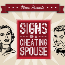 Signs of a Cheating Spouse Infographic
