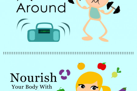 Simple Rules for Amazing Health Infographic