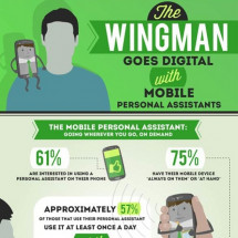 Siri and Google Now: Your New Wingmen? Infographic