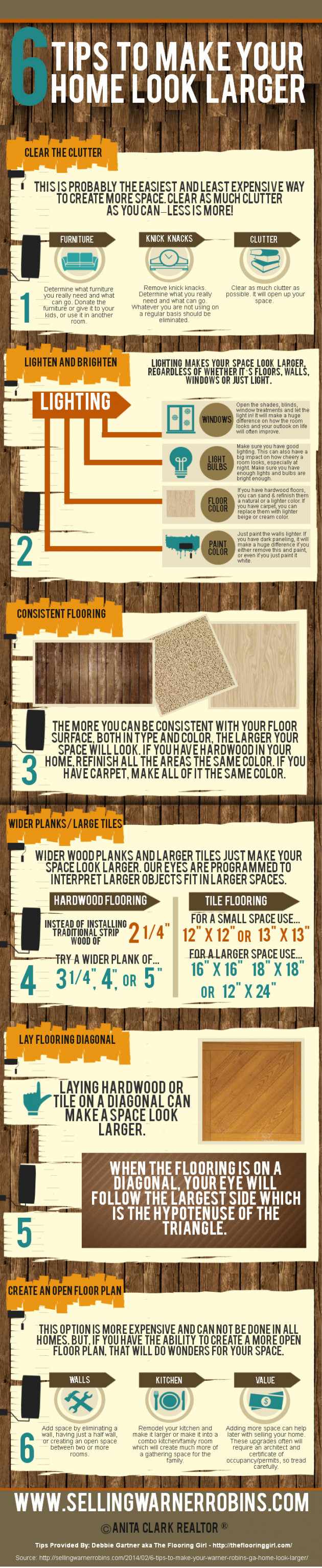 Six Tips To Make Your Home Look Larger