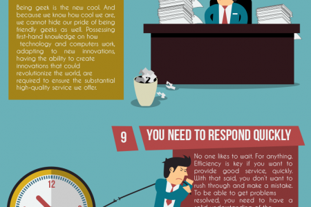 Skills you need to master to be part of the WebHostFace Customer Care Team  Infographic