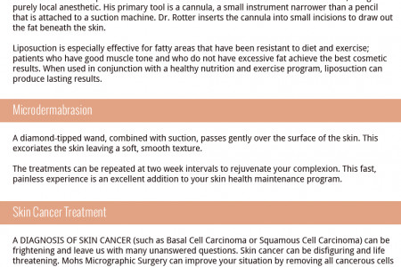 Skin Cancer Treatment Infographic