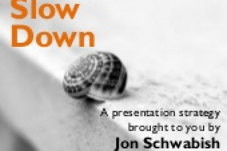 Slow Down: A Presentation Technique Infographic