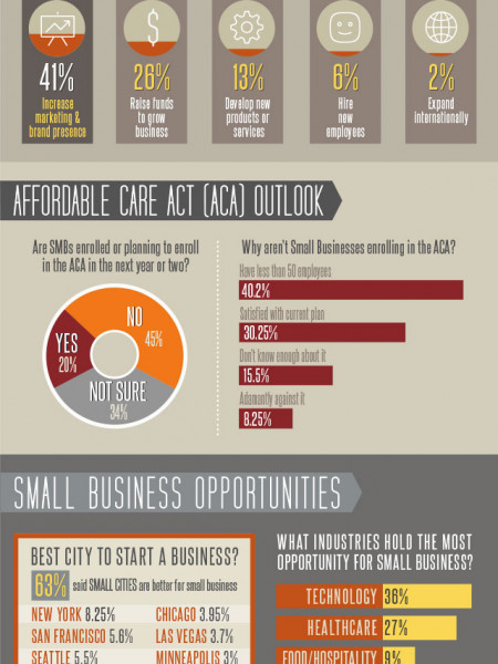 Small Business Outlook 2014 Infographic