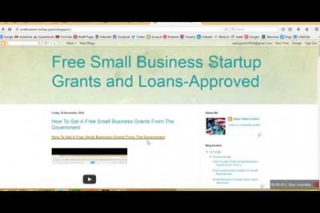 Small Business Startup Free Grants Money For Minority Infographic