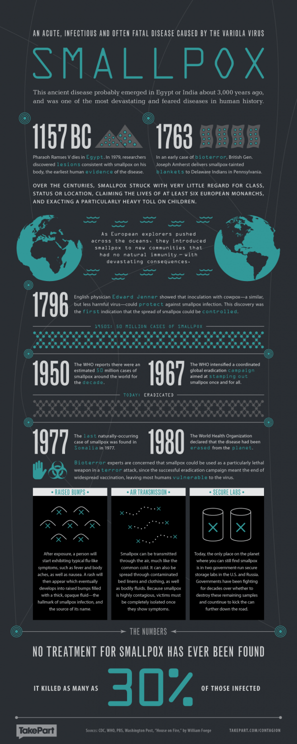 Smallpox Infographic