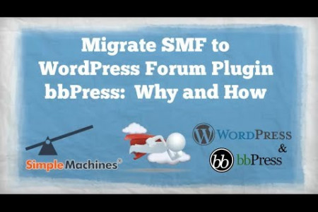 SMF to WordPress Forum Plugin bbPress Infographic