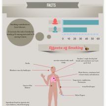 SMOKE TO VAPOR Infographic