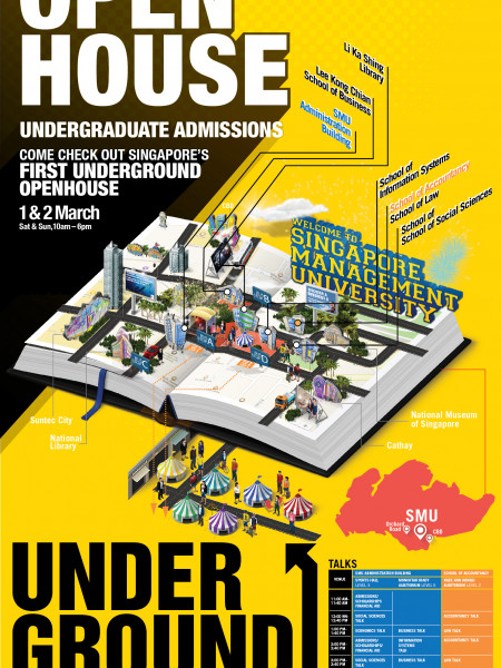 SMU Open House  Infographic