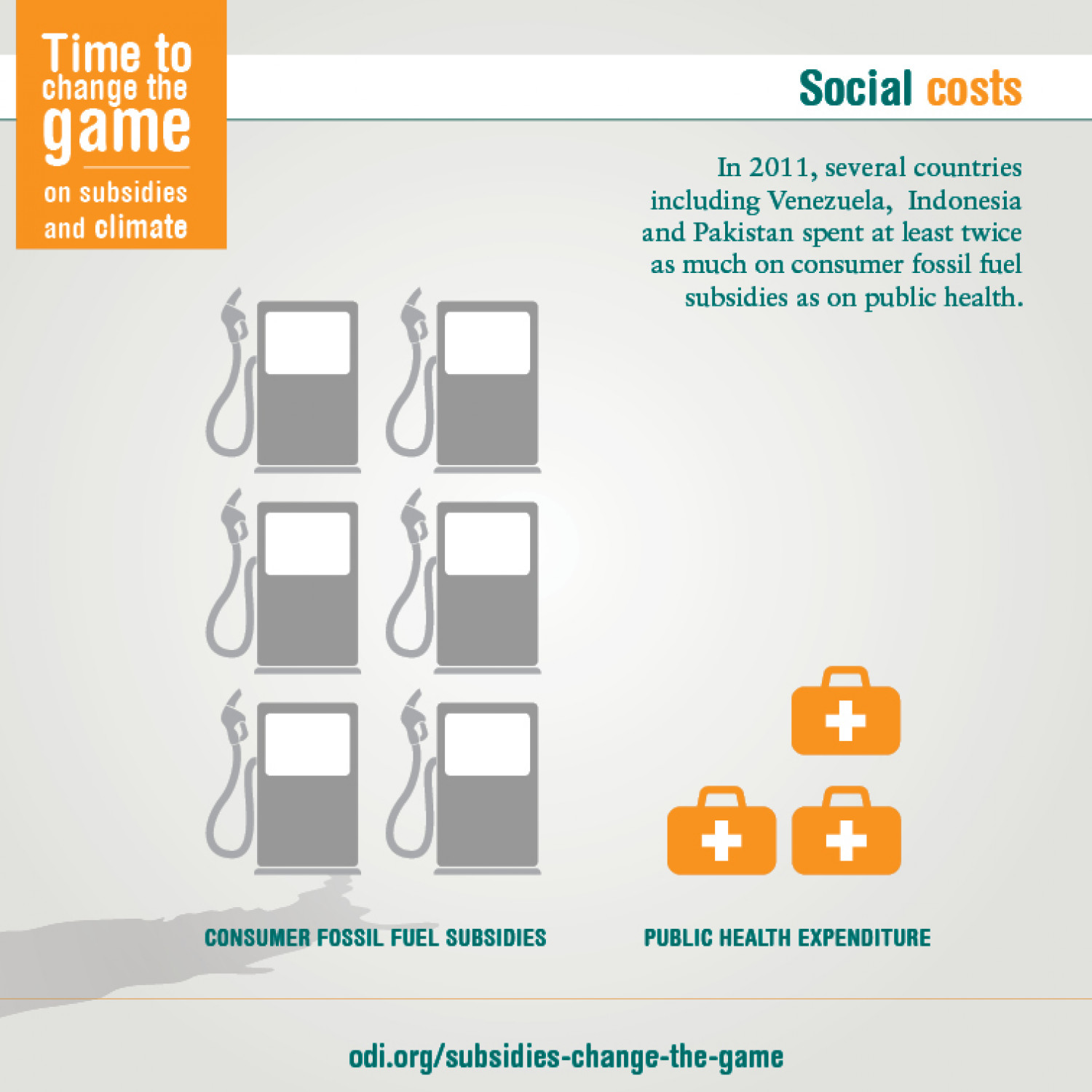 Social costs Infographic