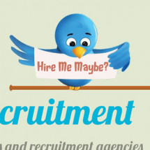 Social Media and the Effect on Recruitment Infographic