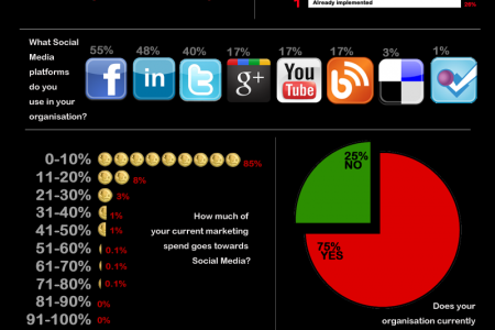 Social Media for Small Businesses Infographic