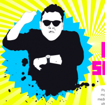 Social Media Managers Going Gangnam Style Infographic