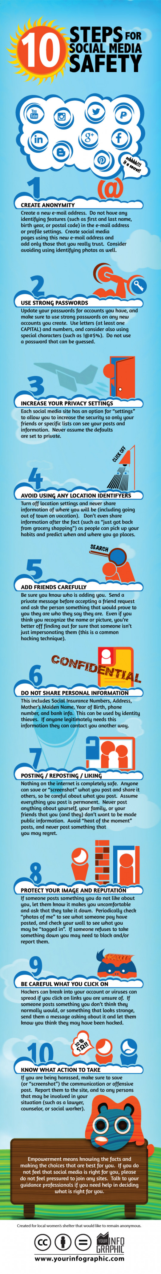 10 Steps for Social Media Safety