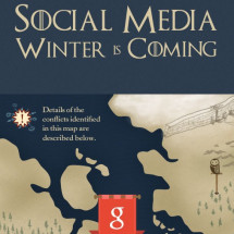 Social Media Wars Told in 'Game of Thrones' Style Infographic