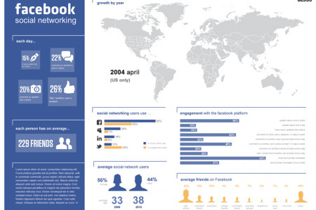 Social Networking  Infographic
