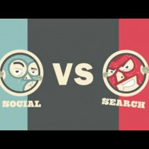 Social vs Search Smackdown: A Battle of Internet Marketing Titans Infographic