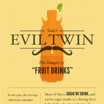 Soda's Evil Twin Infographic