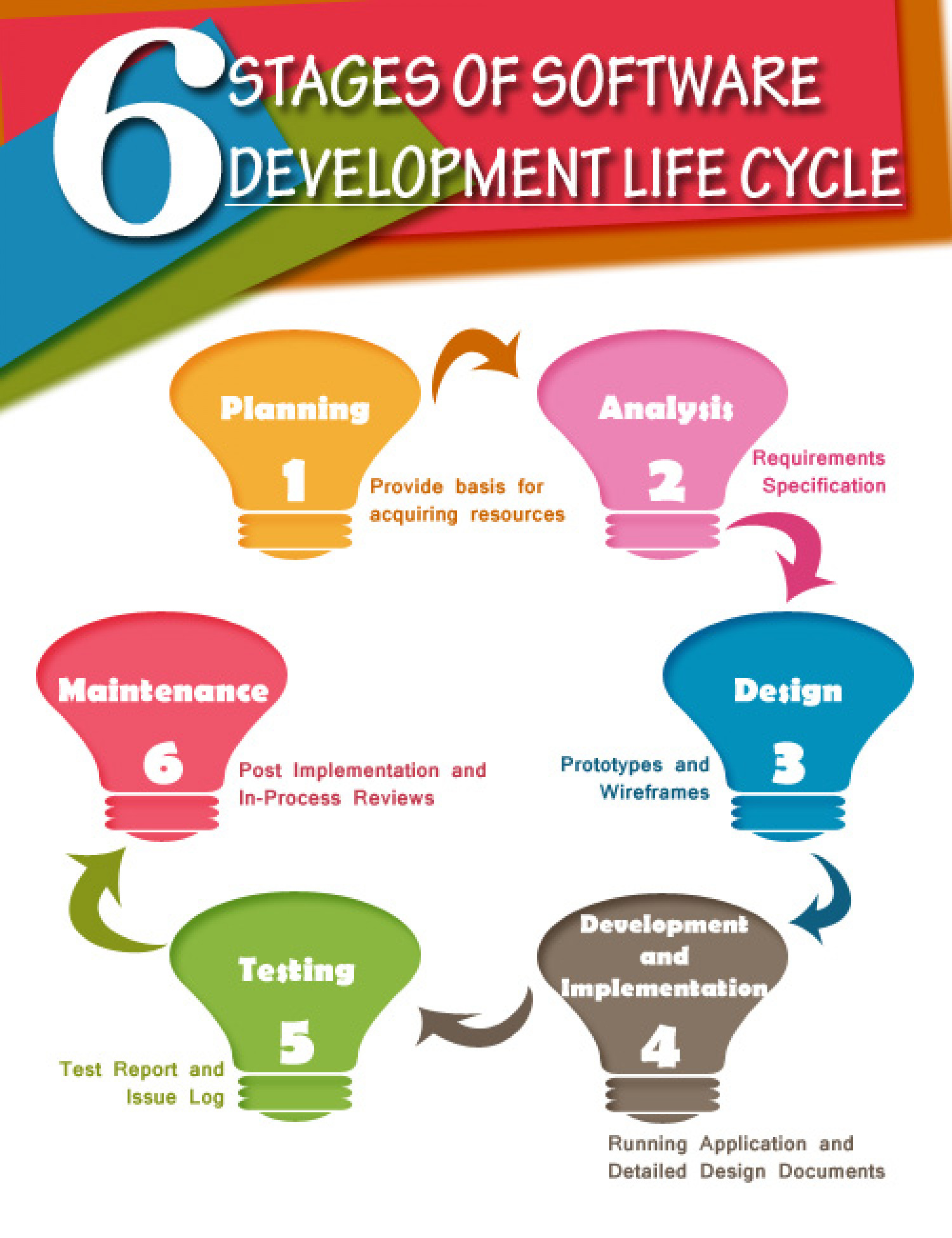 Software Development Infographic