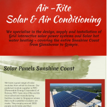 Solar Power Sunshine Coast Services Are Simply The Best Infographic