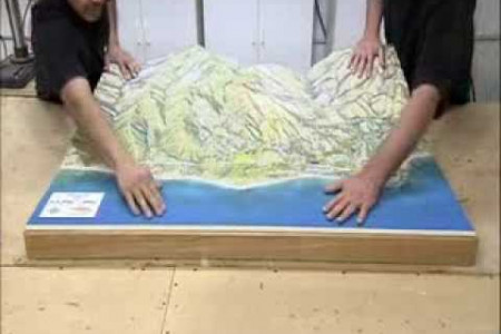 Solid Terrain Modeling highlighted on How It's Made Infographic