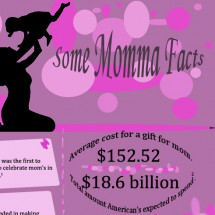 Some Momma Facts Infographic