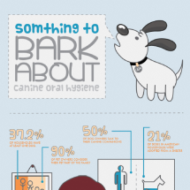 Something to Bark About Canine Oral Hygiene Infographic