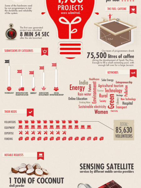 Spark the Rise  Infographic