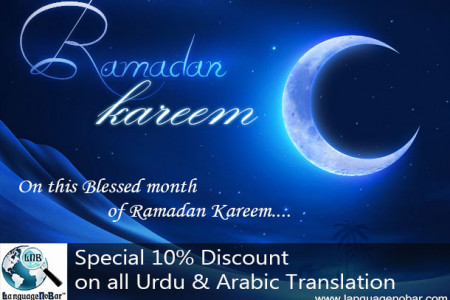 Special Discount on Urdu and Arabic Translation Infographic