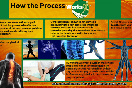 Spinal Alternatives - How The Process Really Works Infographic